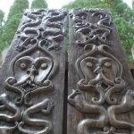 full size door / tribal panel (1 pair) wall statue figure painting sculpture art