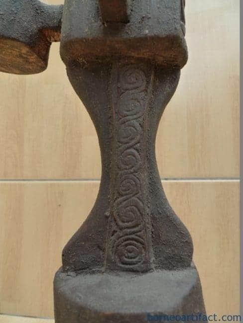 LETI ALTAR 680mm (ONE PAIR) WORSHIP ANCESTRAL STATUE GOD Artifact Sculpture Bali