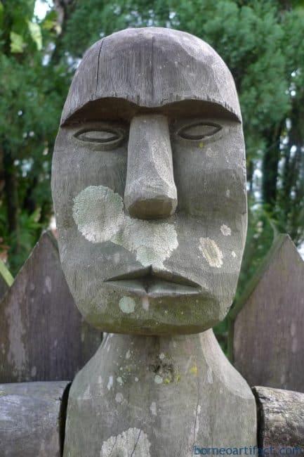 LARGE PENIS FERTILITY 1170mm STATUE Dayak Tribal Figure Sex Sculpture Art Borneo