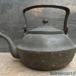 UNUSUAL STEAMER KETTLE Antique Boiler Pot Teakettle Bronze Kitchen Ware Mansion