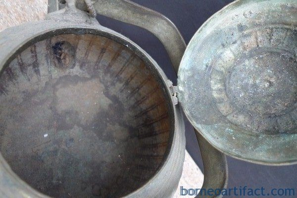 2.4kg AUTHENTIC ANTIQUE KETTLE Boiler Pot Teakettle Bronze Kitchen Ware Mansion