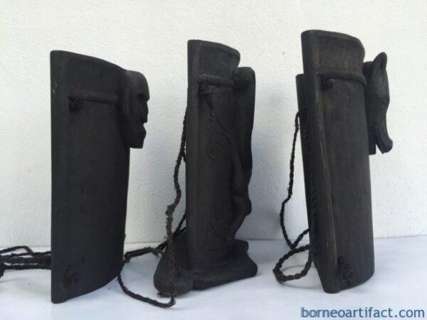 THREE DAYAk BABY CARRIER Tribal Child Backpack Knapsack Sling Bag Native BORNEO