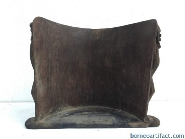 IMPRESSIVE 360mm OLD Native CHILD CARRIER Ironwood Artifact Backpack Ancestral