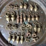 COMPLETE COLLECTION 14 Pairs 1400g HEAVYWEIGHT EARRING Dayak Body Piercing Brass