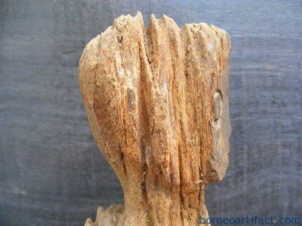 ANCESTRAL WEATHERED POLE ANTIQUE Botanical Artefact ERECTED POLE Statue Icon #10
