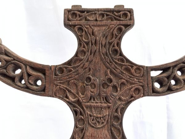 TAFU LETI ALTAR Ancestral Worship Image Old Artifact Artefact Sculpture Art #2