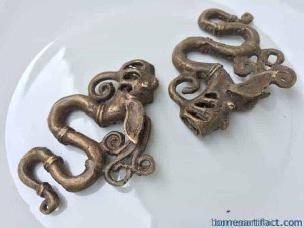 naga serpent earring~ ear weight piercing~tattoo artist body art jewel & jewelry
