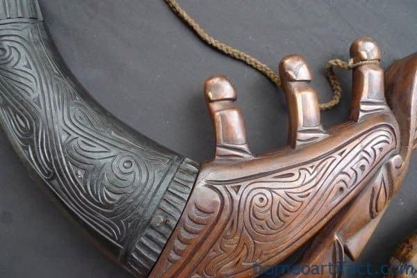 ~ONE PAIR~ NAGA MORSARANG Horn Statue Medicine Box Container Jewelry Chamber #2