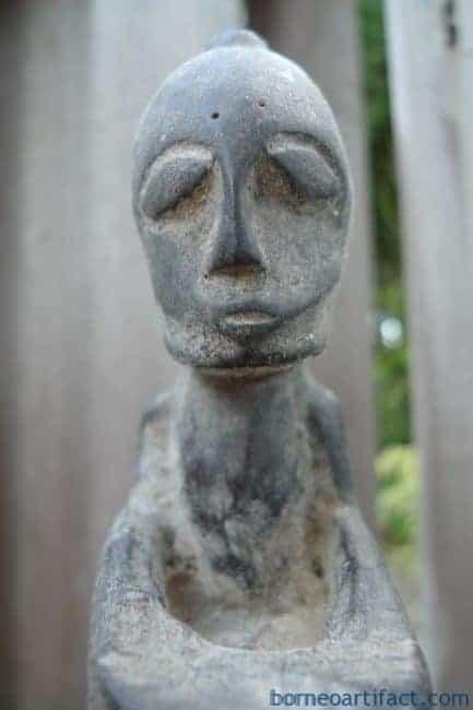 #4 GIANT BATAK CHAMBER 400mm HORN GANA-GANA Statue Sculpture Figure Artifact Art