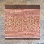 SCORPION & MAYAU Ikat Bidang Ritual Skirt dress SARONG LADIES GARMENT OUTFIT #44