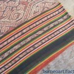 SPIDER NEST Ritual Ikat Bidang Skirt Iban Dayak SARONG LADIES GARMENT OUTFIT #46