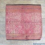 BUAH BERINJAN VINE Pattern Ikat Bidan Ritual SKIRT SARONG LADIES GARMENT #96