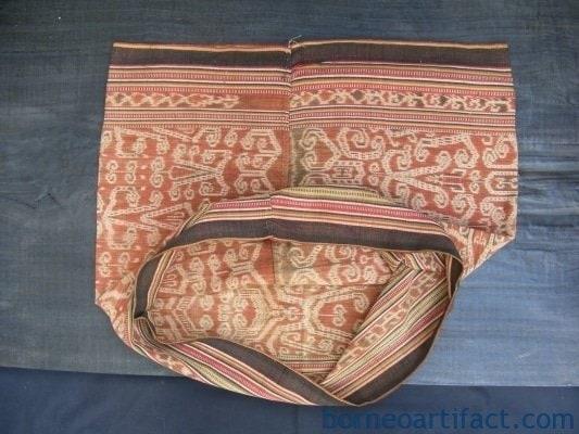 Dayak Iban Ikat Bidang Textile SKIRT DRESS SARONG LADIES GARMENT OUTFIT #126