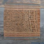 DAYAK TRIBAL DRESS Sieve Pattern Old Ikat Bidang SARONG LADY GARMENT Skirt #298