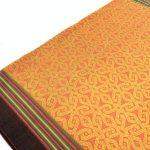 CLOUD PATTERN (22.4 x 2 WAIST) BRIGHT SKIRT DRESS TEXTILE DAYAK SARONG OLD #317