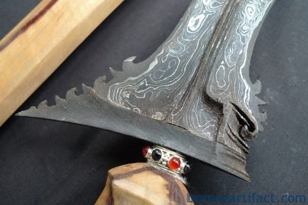 SUPERSIZE 600mm BALINESE KERIS Bali Kris Kriss Weapon Knife Blade Dagger Sword Uluwatu