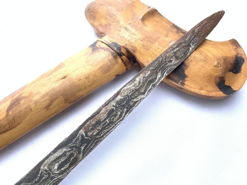 SPOTTED LEOPARD SHEATH Keris Java Balinese Weapon Knife Blade Dagger Sword Arms