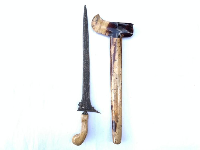 STRAIGHT BLADE UNTU WALANG KERIS Martial Art Weapon Knife Dagger Sword Arms Kris