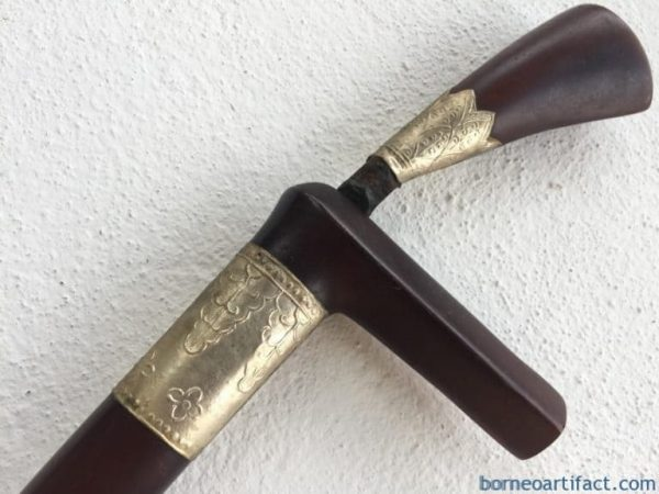 MALAY ARCHIPELAGO 330mm DAGGER Badik Keris Kris Sword Samurai Knife Jawi #1