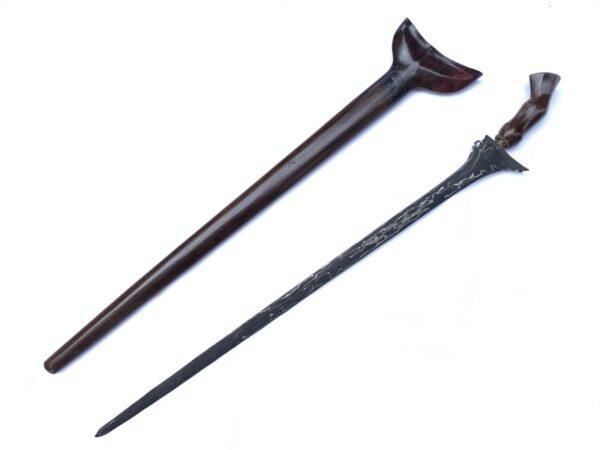 KERIS BULAN SABIT 740mm EXECUTION KRIS Straight Blade Knife Dagger Sword Weapon