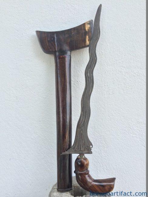 IMPORTANT PAMOR: BLACK MAGIC PROTECTION 18.1 Keris Sword Kris Knife Dagger Art
