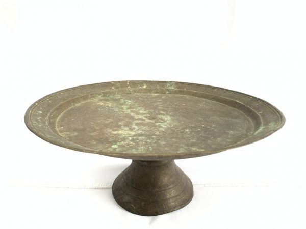 SUPERSIZE 480mm BRASS TRAY Antique Vintage Decorative Wedding Gift Heirloom