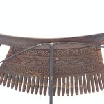 TRIBAL COMB 275mm BATAK KARO Sculpture Hair Jewelry Jewel Hair Accessories Art