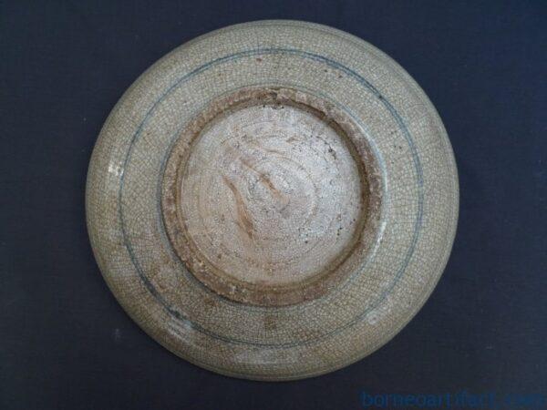 BLUE COLOR 850mm JAR Ching/Qing (1644-1912) Tajau Vase Pot Pottery Porcelain
