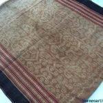GORGEOUS CREEPER VINE Pattern Bidang Dayak SARONG LADY GARMENT SKIRT DRESS #323