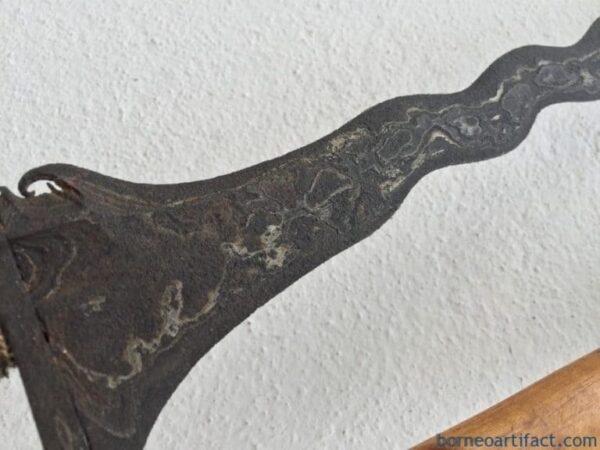 KERIS ULER LULUT WENGKON LUK 7 Weapon Knife Dagger Sword Arms Kris Parang Silat