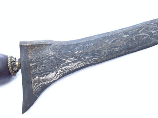 KERIS PALEMBANG 500mm STRAIGHT BLADE Weapon Knife Dagger Sword Kris Kriss Arms