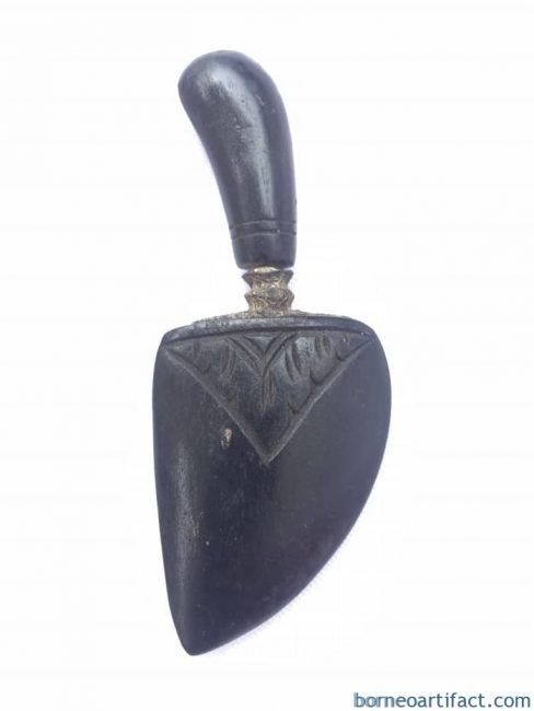 MINI WEAPON 85mm KERIS JANTUNG Shaman Object Dagger Knife Blade Arms Sword #1