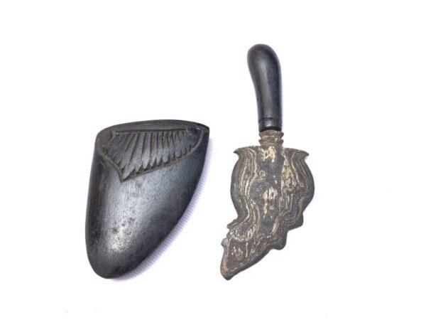 FREE SHIPPING 90mm MINI KUJANG Shaman Talisman Dagger Knife Blade Sword Keris