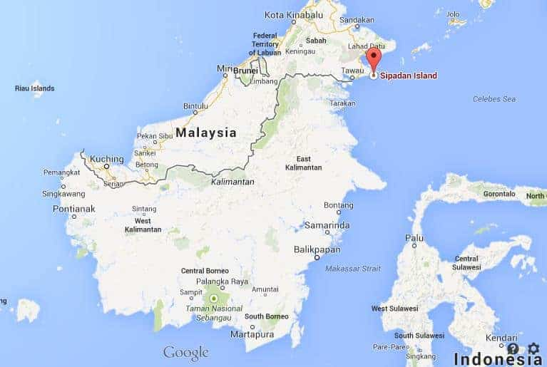 About BORNEO ISLAND - 3rd largest island in the world