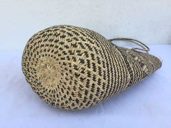 DURABLE RATTAN BAG Tote Handbag Ajat Traditional Weaving Handmade Tribal #2