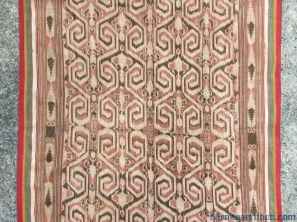old asian textile 1680mm tribal fabric blanket wall deco traditional fabric