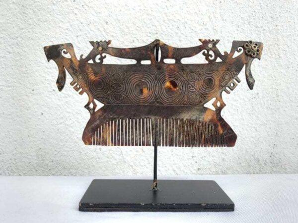 FACELESS HEADDRESS CROWN 155mm Tanimbar Indonesia Jewelry Artifact Asia Asian Culture