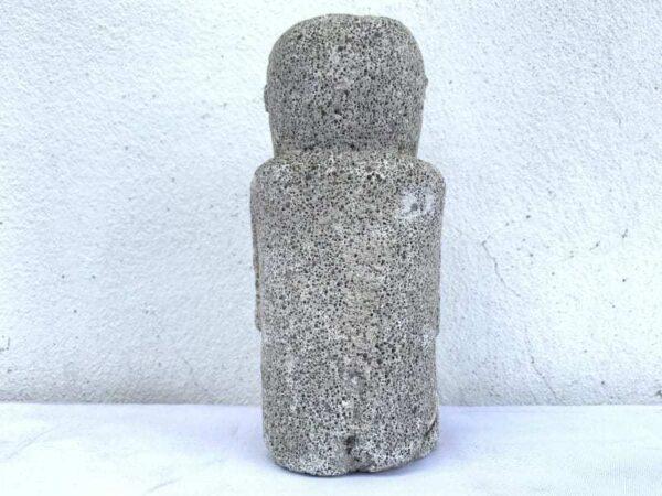 BATAK KARO 190mm FIGURE Coral Statue Sculpture Figurine Tribal Asia Asian Artifact